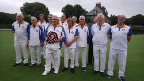 Kensey Vale 'B' Jimmy Hopper Trophy winners 2018