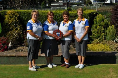 Ladies Captains Shield runners-up 2014