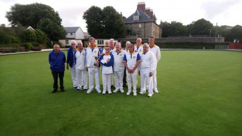Kensey Vale 'C' Grenville Taylor Trophy winners 2018