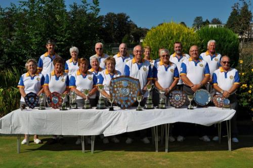 Trophies and members 2014