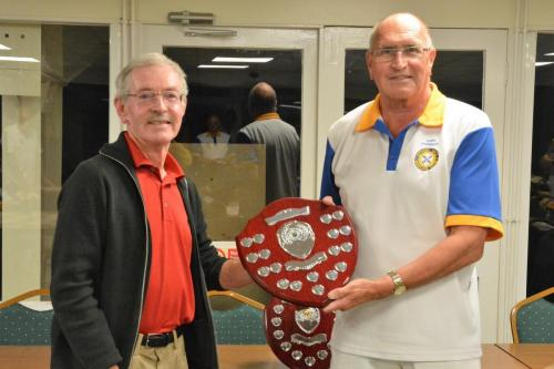 Presentation of JHC Shield to Captain